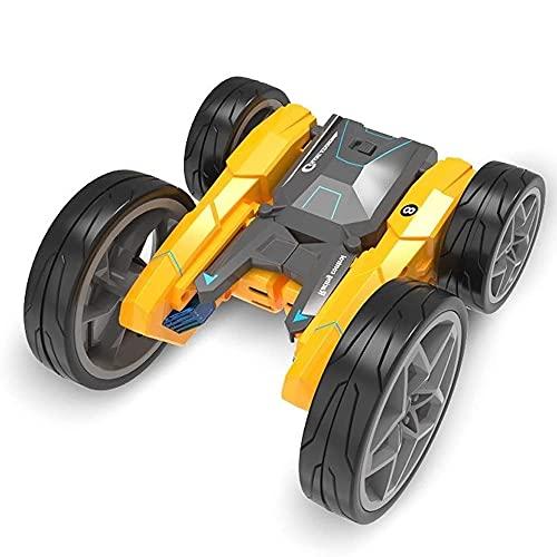 Coche de juguete eléctrico todoterreno con control remoto, radio de 2.4G, giratorio de 360 °, Drift Stunt, vehículo RC, volquete de doble cara, Buggy RC, Bigfoot Monster, camión RC para niños, niños