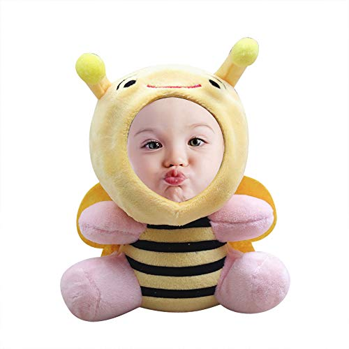 AsiaRhyme Personalized 7' Baby Dolls for 2 Year Old Girls,Bee Small Dolls for Girls 6-12,Talking Dolls for Boy