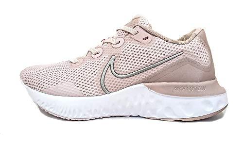 Nike Damen Renew Run Laufschuh, Rosado Ligero/Blanco/Malva Piedra/Bronce Rojo Metálico, 41 EU