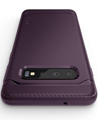 Ringke Onyx Designed for Galaxy S10 Case Extreme Tough TPU Protection Cover for Galaxy S10 (6.1') (2019) - Lilac Purple