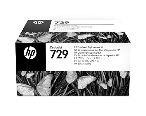 HP F9J81A Tintenpatrone, 729 Printhead Original,Farblos