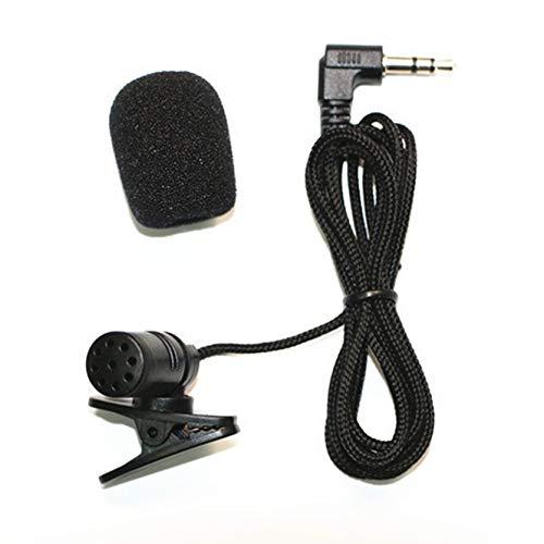 #N/V Micrófono de cuello de 3,5 mm hembra para teléfono manos libres Mini Wired MIC