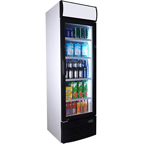 Getränkekühlschrank ZK 280 Flaschenkühlschrank Kühlschrank mit Glastüre Gastro Getränkekühler
