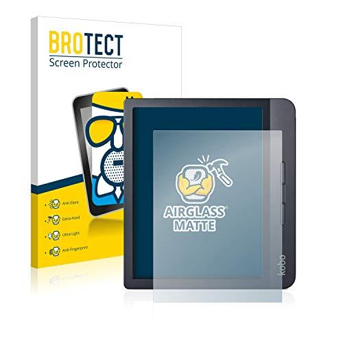 BROTECT Protector Pantalla Cristal Mate Compatible con Kobo Libra H2O Protector Pantalla Anti-Reflejos Vidrio, AirGlass