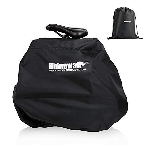 輪行バッグ 折りたたみ自転車 防水 輪行袋 自転車 収納 バッグ 16インチ~20インチ対応 専用ケース付き (20インチ進化版)