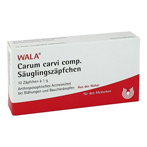 WALA Carum Carvi comp. Säuglingszäpfchen, 10 St. Zäpfchen