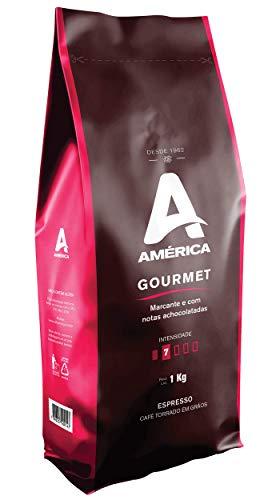 Café Torrado em Grãos América Gourmet- Pac. 1,0 Kg
