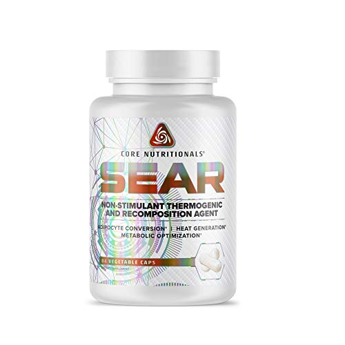 Core Nutritionals SEAR Non-Stimulant Thermogenic and Recomposition Agent 84 Capsules