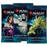 3 (Three) Booster Packs of Magic: The Gathering: Ultimate Masters (3 Pack - UMA Booster Draft Lot)