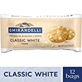 Ghirardelli Baking Chips, Classic White, 11-Ounce Bags (Pack of 6)