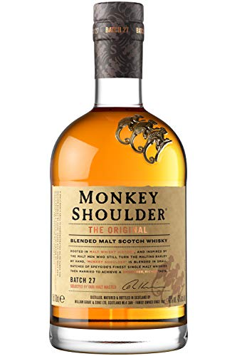 Whisky Honey marca Monkey Shoulder