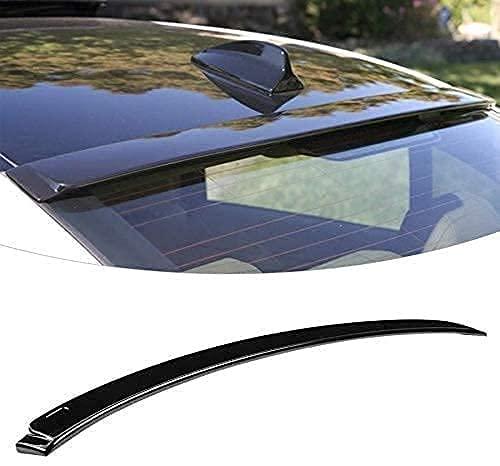 ERBV - Alerón de Techo para Parabrisas Trasero Negro Brillante, Pieza de complemento automático para BMW Serie 3 E90 y M3 2006-2011, alerón de Techo de Coche