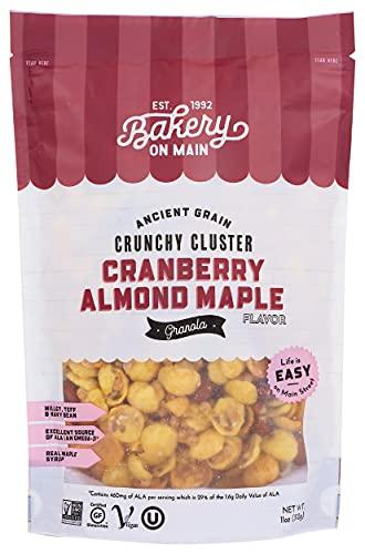 Bakery On Main Granola Gluten Free Nutty Cranberry Maple, 11 oz