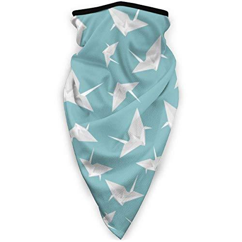 zxyaian paper crane outdoor face