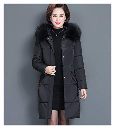 SSN Invierno Blanco Down Duck Jacket Mujeres Coreano Medio Talla Grande XL-6XL Chaqueta De Plumas...