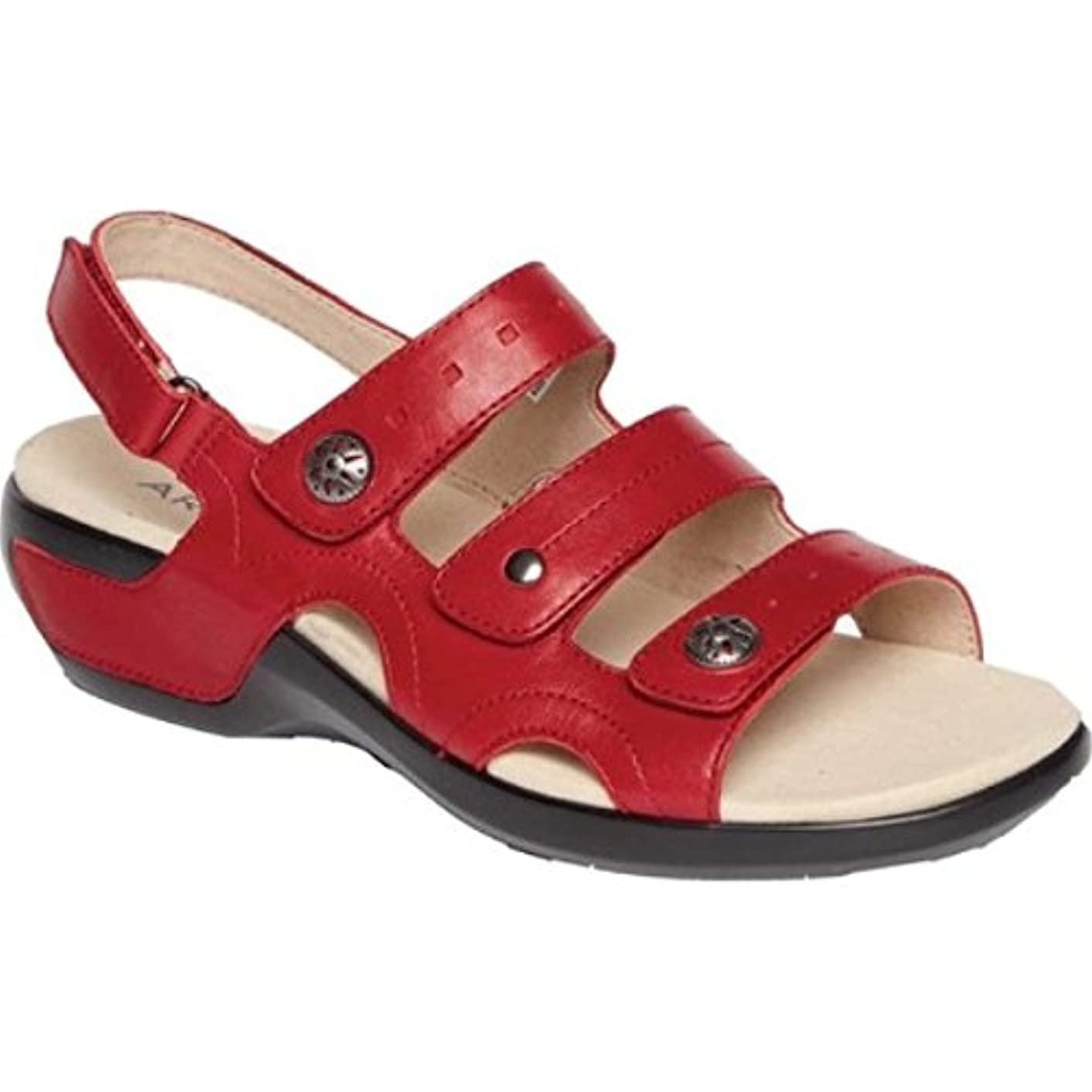 超えて富代理店(アラヴォン) Aravon レディース シューズ?靴 サンダル?ミュール PC Three Strap Slingback Sandal [並行輸入品]
