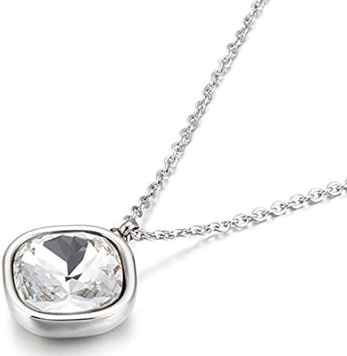 Jude Jewelers Stainless Steel Leaf Feather Collar Statement Necklace