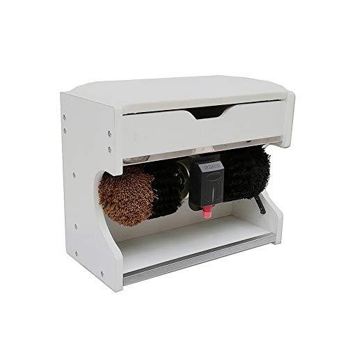 QFFL Máquina limpiabotas automático Pulidora Eléctrica para Zapatos, Máquina de Pulido Y Abrillantador Mecánico para El Pulido de Zapatos de Inducción Completamente Automática Cepillo de Limpieza