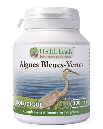 Algues bleues-vertes (organique) 300mg x 90 capsules (100% sans additif)