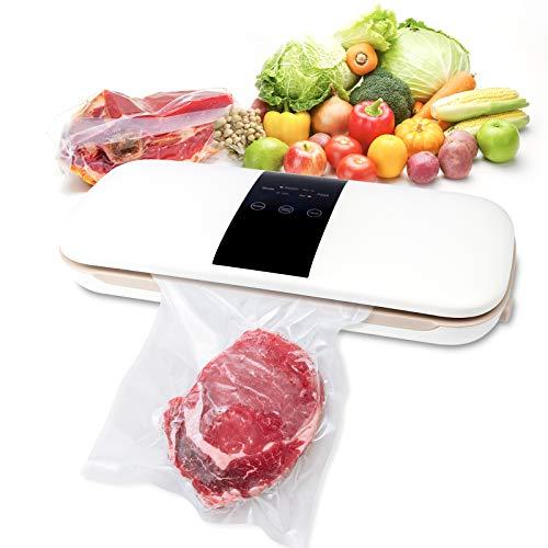 Macchina per Sottovuoto Alimenti - Sottovuoto Macchina Vacuum Sealer Professionale Automatico per l'Uso Domestico e di Casa Freschi Sia Secchi Che Umidi