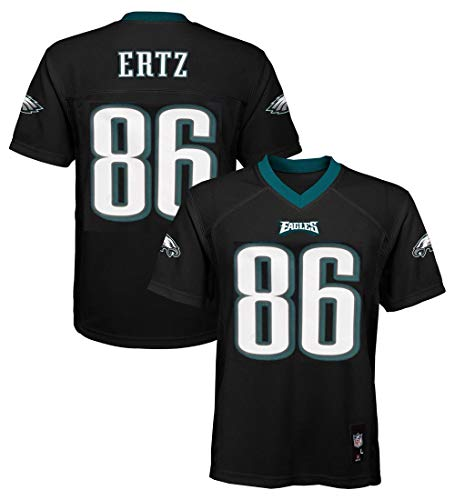 Zach Ertz Philadelphia Eagles NFL Youth 8-20 Black Alternate Mid-Tier Jersey (Youth Small 8)