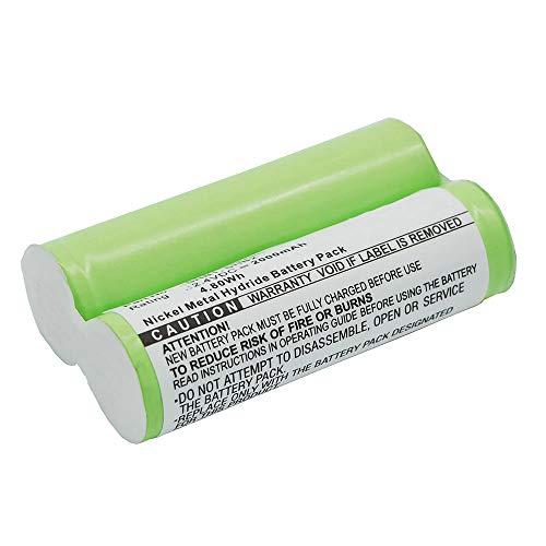 subtel® Batería Premium Compatible con Braun 4510/5550 / 5586 / Philips 282XL / Norelco HS985 / Remington RR-1, SHB1 2000mAh Pila Repuesto bateria
