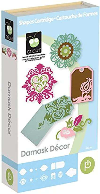 Cricut 2001009 Damask Decor Cartridge
