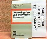 Lineare Algebra und analytische Geometrie, 2 -