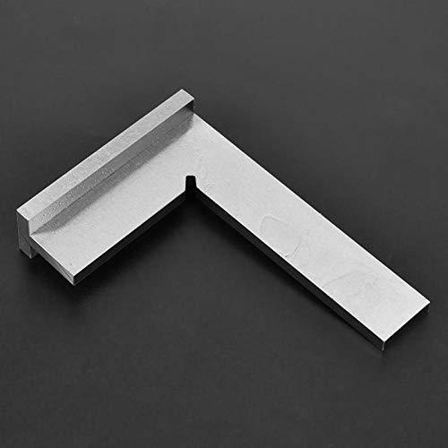 Ręczny przyrząd pomiarowy z zasadą kąta kwadratowego do pracy pomiarowej do wykrywania kątów rozdziału oznaczeń narzędzie w kształcie litery L (150 x 100 mm)