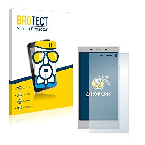 BROTECT Panzerglas Schutzfolie kompatibel mit Gionee Elife E8 - AirGlass, extrem Kratzfest, Anti-Fingerprint, Ultra-transparent