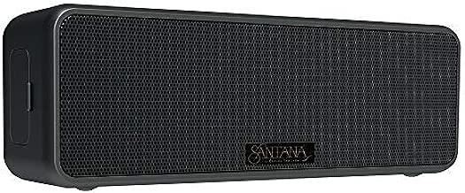 Carlos Santana Samba Bluetooth Speaker 20 Watt Stereo IP65 Waterproof with Built-in Mic & Powerbank