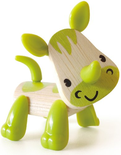 Hape - E5538 - Figurine Animal - Rhinocéros