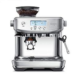 Sage Appliances SES878 the Barista Pro, Siebträgermaschine, Gebürsteter Edelstahl