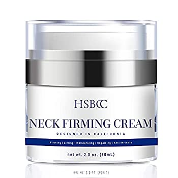 HSBCC Neck Firming Cream with Peptides Neck Cream Neck Moisturizer Cream Anti Wrinkle Anti Aging Neck Firming Cream Advanced Stem Cell + Collagen Formula For Tightening & Lifting Sagging Skin