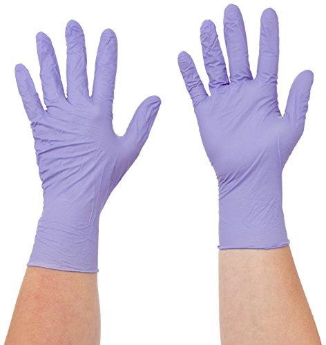 Semperguard 816780235/3000001618 XtraLite Einmalschutz und Untersuchungshandschuh aus Nitrillatex, puderfrei, Größe M, 7-8, Lavendelblau (200 er-Pack)
