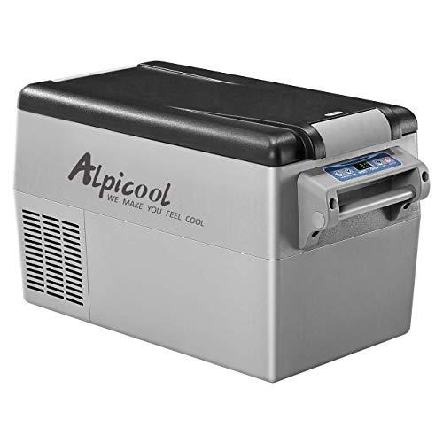 35 litros doble compartimento portátil Auto Frigorífico Congelador Nevera CC 12 V 24 V CA 110 V