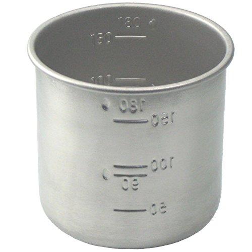 アイデアセキカワ 18-8ステンレス お米の計量カップ 1合