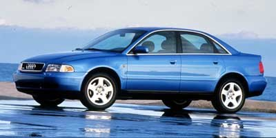 1999 Audi A4 Quattro, 4-Door Sedan 1.8L Automatic Transmission Quattro All Wheel ...