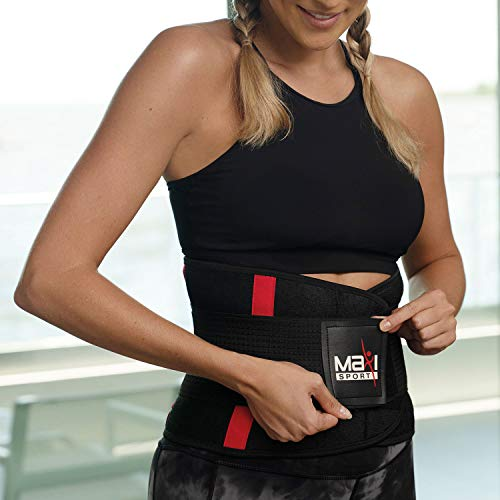 Maxi Climber MaxiSport Waist Trimmer, S/M - Capture Body Heat, Increase Perspiration, and Maximize Your Workouts