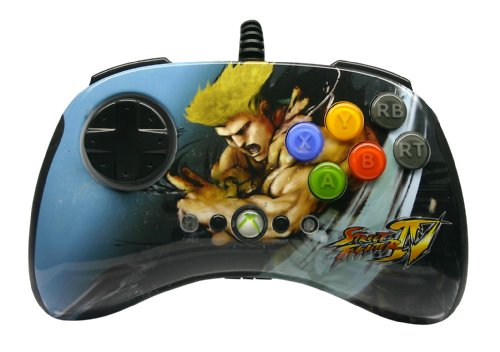Manette Street Fighter round 2 (Xbox 360) - Guile