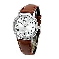 CASIO カシオ MTP-1095E-7B MTP1095E-7B ベーシック アナログ ブラウン メンズウォッチ 腕時計 [並行輸入品]