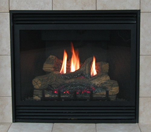 """Empire Tahoe Deluxe Direct Vent Natural Gas Fireplace - 32"""" - DVD-32-FP30N"""