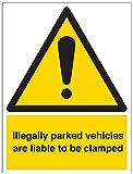"""Vsafety 6e016bc-s""""ilegalmente estacionado los vehículos"""