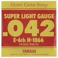 YAMAHA/ヤマハ H-1066×6 エレキ弦/スーパーライト/6弦×6(H1066)