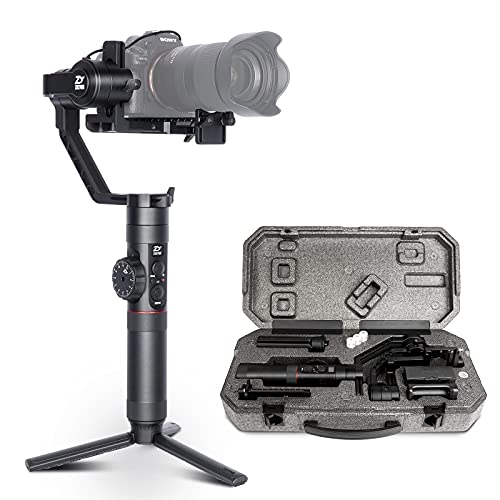 Zhiyun Crane 2 3-Axis Handheld Gimbal Stabilizer for DSLR Mirrorless Camera Compatible with Sony A9 A7iii Panasonic Nikon Canon-2021 Version