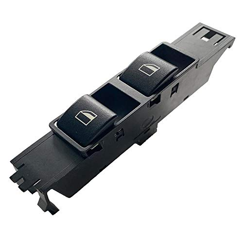 Interruptor de la ventana Interruptor de la ventana de potencia delantera izquierda Compatible con BMW E46 323CI 325CI 328CI M3 Coupe 2000 2001 2002 2004 2006 61 31 6 902 175 61316902175 Reemplazo
