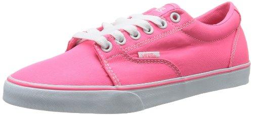 Vans Damen W Kress Lauflernschuhe Sneakers, Pink (Canvas Neon P), 35 EU