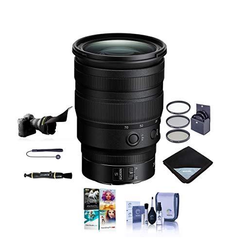 Prime Nikon Z6 24.5MP Digital Camera – Black (Kit with NIKKOR Z 24-70mm F/4 S