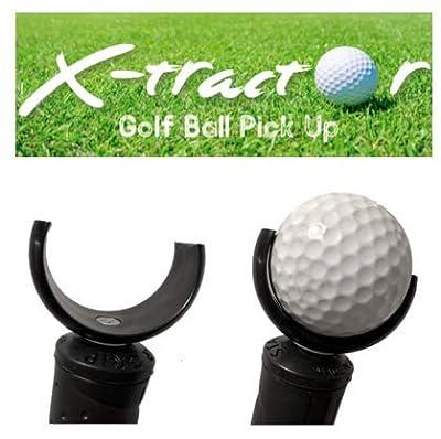 X-Tractor - Golf Ball Pick Up Tool - Black