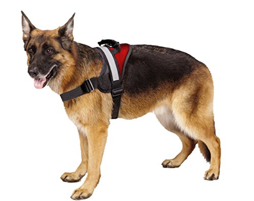 Big Dog Harness Soft Reflective No Pull Red Size XL 36-46inch